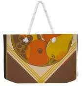 Balanced Diet For The Expectant Mother Inquire At The Health Bureau Weekender Tote Bag