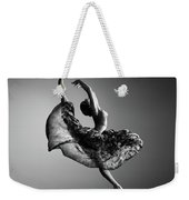 Ballerina Jumping Weekender Tote Bag
