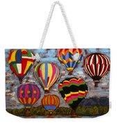 Balloon Family Weekender Tote Bag