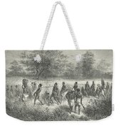 Band Of Captives In The Village Of Mbame Weekender Tote Bag