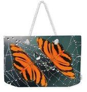 Banded Orange Butterfly. Weekender Tote Bag