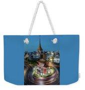 Bangkok Traffic Circle Weekender Tote Bag