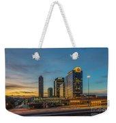 Banking Giants Too Atlanta Midtown Sunset Atlanta Georgia Art Weekender Tote Bag