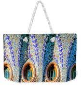 Barcelona Mosaic  Weekender Tote Bag