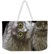 Barking Owls 2 Weekender Tote Bag