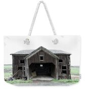 Barn 1886, Old Barn In Walton, Ny Weekender Tote Bag by Gary Heller