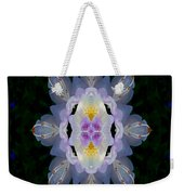 Baroque Fantasy Flowers Ornate Weekender Tote Bag