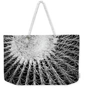 Barrel Cactus Black And White Weekender Tote Bag