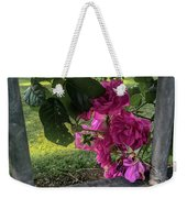 Bars Of Rose Weekender Tote Bag
