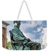 Bascom Hall Lincoln Statue Weekender Tote Bag