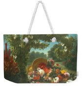 Basket Of Flowers  Weekender Tote Bag