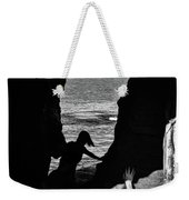 Scene With A Jumping Thing Weekender Tote Bag