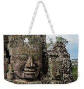 Bayon Faces, Angkor Wat, Cambodia Weekender Tote Bag