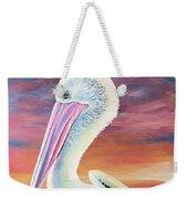 Bayou Pelican / Modern Ibis Weekender Tote Bag