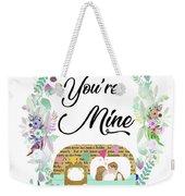 Be In Love Weekender Tote Bag