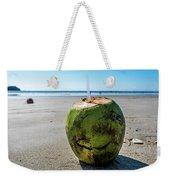Beach Coconut Weekender Tote Bag