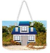 Beach Cottage Weekender Tote Bag