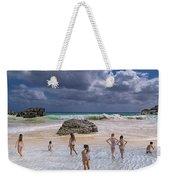 Beach Day Weekender Tote Bag