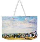 Beach Of Trouville - Digital Remastered Edition Weekender Tote Bag