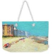 Beach Vacation Weekender Tote Bag