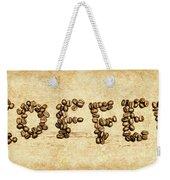 Bean Making Coffee Weekender Tote Bag
