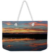 Bear River Sunset Weekender Tote Bag
