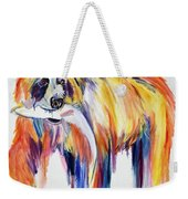 Bear Snack Weekender Tote Bag