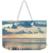 Beautiful Clouds Over Pamlico Sound Weekender Tote Bag