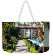 Beautiful Courtyard Getty Villa  Weekender Tote Bag