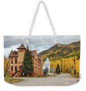 Beautiful Small Town Rico Colorado Weekender Tote Bag