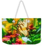 Beautiful Swallow Tail Butterfly Weekender Tote Bag by Don Northup