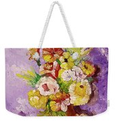 Beauty On Bouquet Weekender Tote Bag