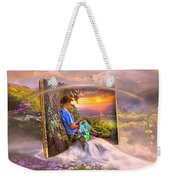 Becoming Part Of The Story In Watercolors Weekender Tote Bag