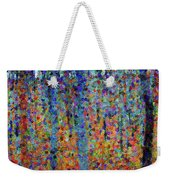 Beech Grove Abstract Expressionism Weekender Tote Bag