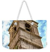 Bell Tower Weekender Tote Bag