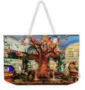 Bellagio Conservatory Enchanted Talking Tree Ultra Wide 2018 2.5 To 1 Aspect Ratio Weekender Tote Bag