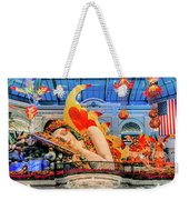 Bellagio Conservatory Falling Asleep Display Wide 2018 2.5 To 1 Aspect Ratio Weekender Tote Bag