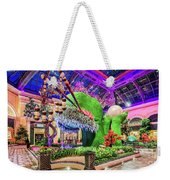 Bellagio Conservatory Spring Display Front Side View Wide 2018 2 To 1 Aspect Ratio Weekender Tote Bag