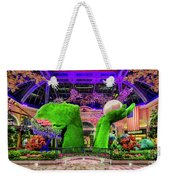 Bellagio Conservatory Spring Display Ultra Wide 2 To 1 Aspect Ratio Weekender Tote Bag