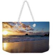 Bermuda Beach Sunrise Weekender Tote Bag