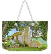 Bermuda Botanical Gardens Cottage Weekender Tote Bag