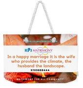 Best Matrimony In Chennai Weekender Tote Bag