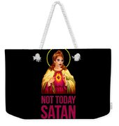 Bianca Del Rio Not Today Satan Weekender Tote Bag