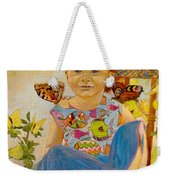 Bianka And Butterflies Weekender Tote Bag