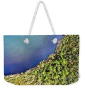 Big Bay Bear Lake Aerial Weekender Tote Bag