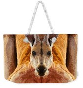 Big Boy Red Kangaroo   Weekender Tote Bag