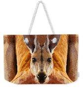 Big Boy Red Kangaroo   Weekender Tote Bag