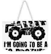 Personalized Big Brother or Big Sister Bags Dump Trucks