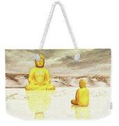 Big Buddha, Little Buddha Weekender Tote Bag