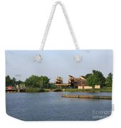 Big Chute Marine Railway, Trent Severn Waterway, Ontario Weekender Tote Bag